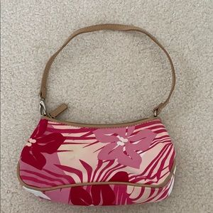 Nine West Pink Flowered Small Purse
